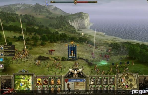 Egy PC-játék, Artúr király és a zombik